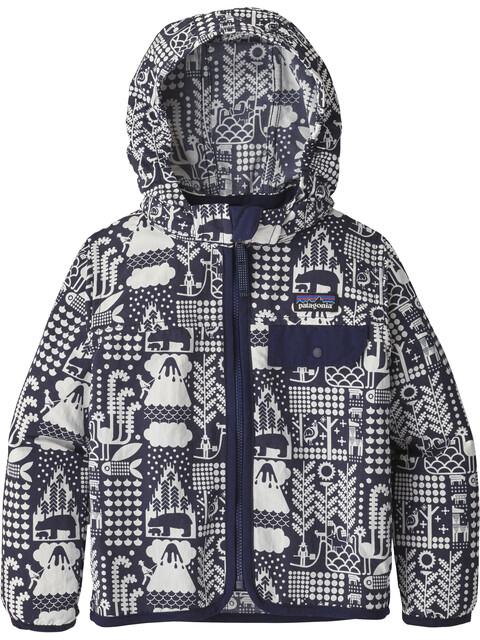 Patagonia Kids Baggies Jacket Mcquail: Classic Navy